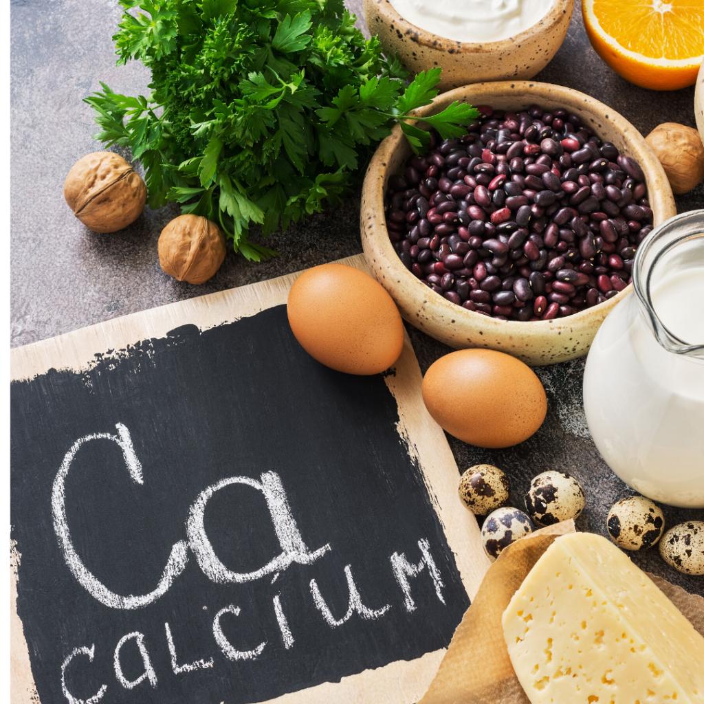 La calcium dans l'alimentation